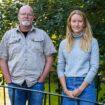 Åtgärdssamordnarna Jonas Dahl och Therese Parodi